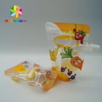 China Eco - Friendly Stand Up Spout Pouch Plastic Pouches Packaging With Ziplock on sale
