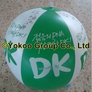 environmental PVC beach ball