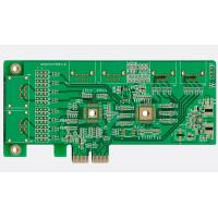 Quality Digital Display FR4 PCB Prototype High Speed Green Solder Mask Immersion for sale