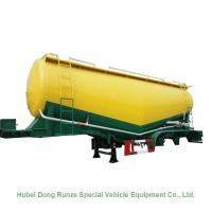 Quality 50-70cbm 2/3 Axle Cement Silo Trailer , Dry Bulk Cargo Trailer 40 - 100 Tons for sale