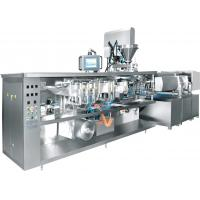 Quality Vacuum Rotary Pouch Packing Machine , Rotary Packaging Machine For Stretch Film Food for sale