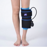Quality PVC Black Insulated Cold Compression Wrap For Calf Muscle for sale