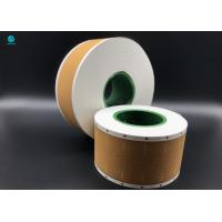Quality Lip Release Yellow Cork Tipping Paper For Filter Rod Packaging In Cigarette NTM for sale