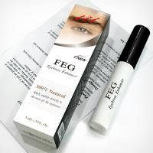 Quality FEG eyebrow enhancer lotion/eyebrow growth solution/3ml capacity in transparent for sale