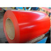 Quality CQ Prepainted Galvalume Steel Coil 0.13mm - 1.2mm Ral3001 Red Ral9002 White for sale