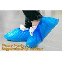 Quality THICK DISPOSABLE,DUST-PROOF,CPE COATED,SMS BOOT COVER,NON WOVEN SHOE COVER,heavy duty polypropylene fabric shoes cover for sale