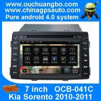Quality Ouchuangbo HD Video Car Radio GPS 3G Wifi DVD Player Kia Sorento 2010-2011 S150 Android 4.0 System OCB-041C for sale