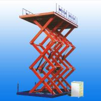 Quality Four-wheel mobile scissor lifting platform for sale