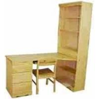 Quality Sofia Study Table W/Bookcase for sale