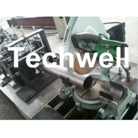 Quality Round Rainspout Roll Forming Machine for Rainwater Downpipe, Downspout Drainage for sale