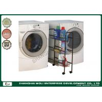 Quality Household bathroom fitting display shelf storage unit in laundry , wire shelving units for sale