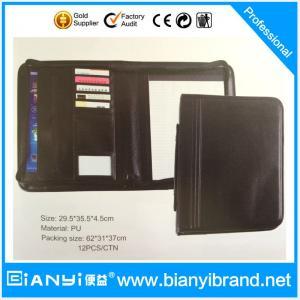 China Manufacture handmade zipper document bag on sale