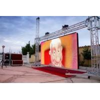 Quality P10 SMD IP65 LED Screen Panel 320 * 160mm Module High Brightness And Refresh Rate for sale