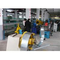 China Gear Driving Rolling Shutter Strip Forming Machine 6~8m/min Galvanized Steel on sale