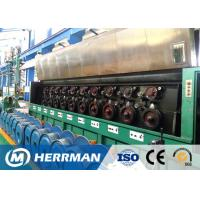Quality High Speed Aluminium Wire Rod Drawing Machine Separate Motor Controlled for sale