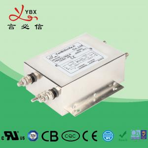 Quality Screw 150A AC Electrical Noise Filter , Two Stage Single Phase EMI Filter for sale