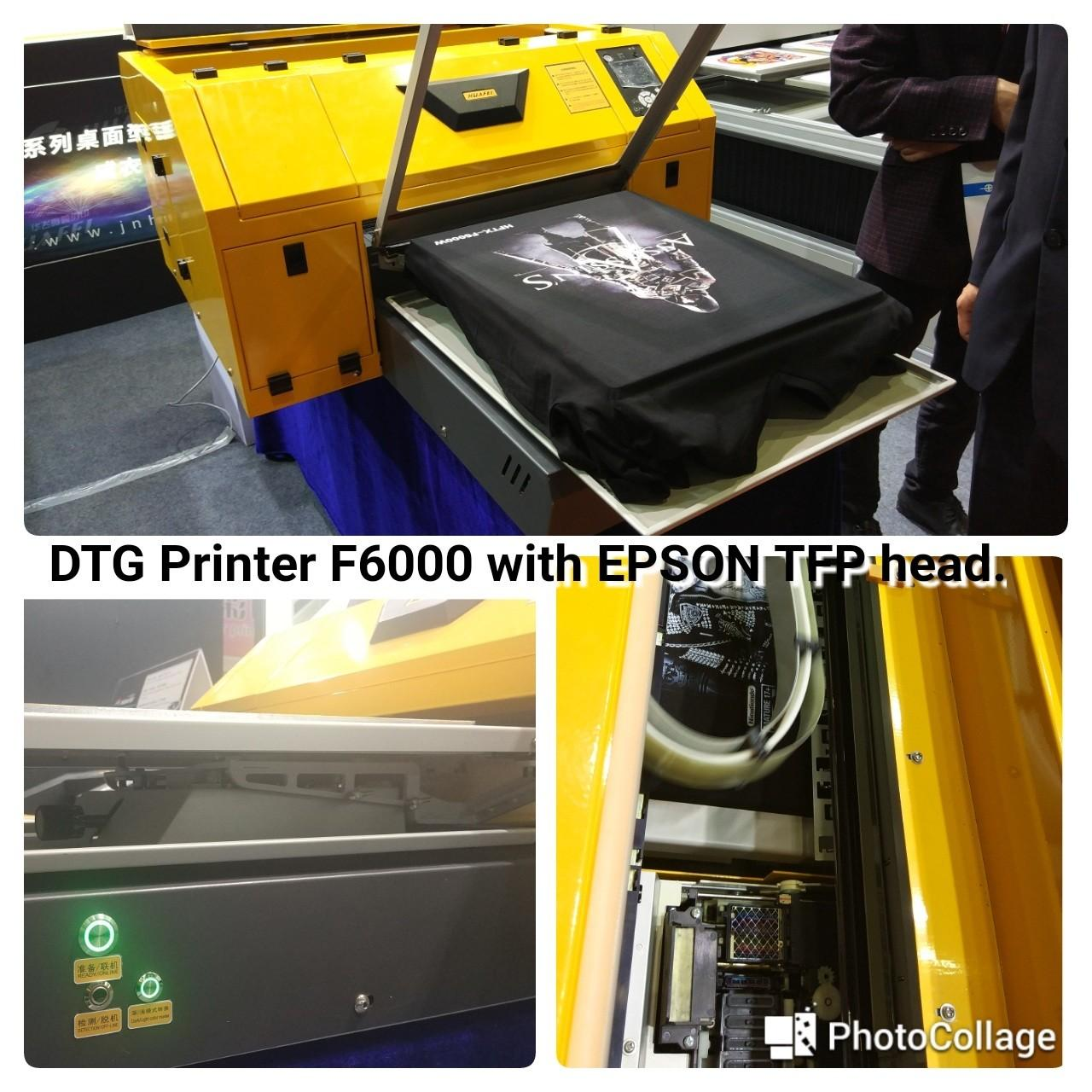 Quality Cheap 11 color dtg printer a2 garment t-shirt printer with special price for sale