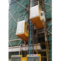Buy cheap SC200/200 Construction hoist lift 2000kg payload 46m/min speed for sale from wholesalers