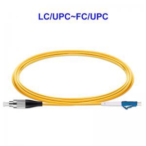 Quality OEM Single Core Single Mode Fiber Optic Cable LC UPC FC UPC For LAN CATV for sale