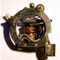 Quality Permanent Axe iron handmade tattoo machines with Electric Gun Type for sale