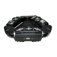 China Multicolor Spider Beam Moving Head Light 9x10W ,  Air Cooled Dj Moving Lights on sale