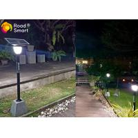 Quality Modern Design Solar Powered Outdoor Street Lights , All In One Garden Light 500-550lm for sale