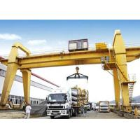 Quality 40 50 100 Ton Double Girder Gantry Crane Rail Mounted 18 - 35m Span Optional Color for sale