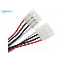 Quality White 3.96mm Pitch Pa66 4pin Female Connector To Molex3.96 With 1007 22awg Wire Harness for sale