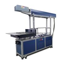 China S800 3D dynamic CO2 glass tube laser marking engraving cutting machine for Jeans on sale