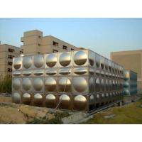 China Large Water Stainless Steel Water Tanks For Fire Water With ISO9001 on sale