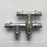 Quality Pex sliding sleeve fittings for floor heating for sale