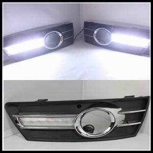 Quality VW CC PASSAT 2009-2013 LED FOG LAMPS LED DRL Daytime Running Light driving lamps for sale