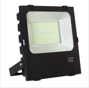 Quality Electrophoretic 100W Outdoor LED Flood Fixtures 13000lm for sale