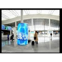Quality Quick Response Cylinder Led Display , Exterior Flexible Led Display Panels P5 for sale