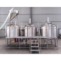Buy Small beer brewing equipment stainless steel mash tun copper shell at wholesale prices