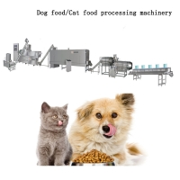 Quality Automatic Dry Extruder 160kg/H Pet Food Machine For Dog for sale