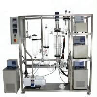 Buy CBD And Herb Extraction Machine , Automatic Molecular Distillation Apparatus at wholesale prices
