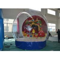 Quality Advertising Christmas Yard Inflatables Ball , Inflatable Outdoor Christmas Decorations for sale