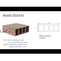 China synthetic wood decking OLDA-03 160*60mm on sale