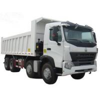 popular type HOWO 371hp dump truck white color direct selling LHD or RHD