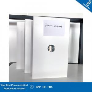 Quality Aluminum Honeycomb Clean Room Panels Green Decorative Materials Custom Length for sale