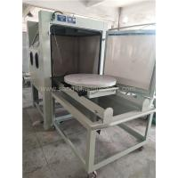 Quality Turntable Dry Manual Blasting Machine 1200*1200*1950mm Dimension for sale