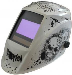 Quality Comfortable Solar Powered Auto Darkening Welding Helmet Anti UV Customized LOGO for sale