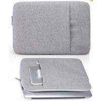 Quality Grey 14 Inch Neoprene Laptop Sleeve Custom With Personalised for sale