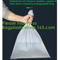 Quality Plastic Corn Starch Wholesale Custom Printed Private Label Cornstarch Compostable Pet Dog Waste Bag Biodegradable for sale