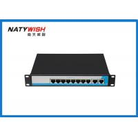 China Lightweight Portable 8 Port Ethernet Switch 25.1*16.1*3.7cm For CCTV Security Camera on sale