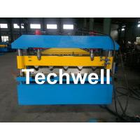 Buy cheap Iron Metal Roof Sheet Roll Forming Machine With Manual Or Hydraulic Uncoiler from wholesalers