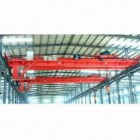 China QD Model Double Girder Bridge Cranes with Remote or Cabin Control on sale