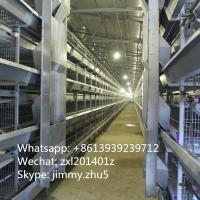 4 Tiers 168 Birds Small Pullets Battery Poultry Cage Baby Chicken Cage For Sale