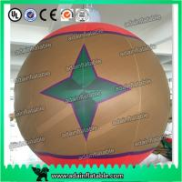 Quality New Brand Event Hanging Decoration Inflatable Ball With LED Light/Inflatable balloon Decor for sale